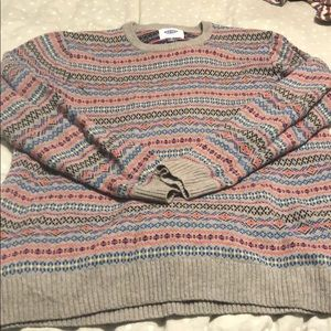 Men's fairisle sweater